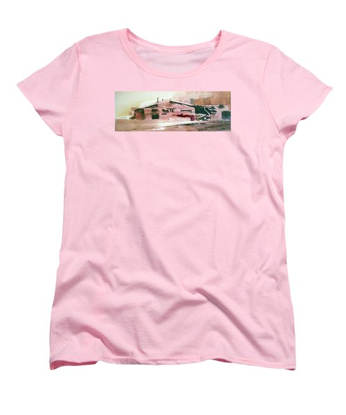 On The Ranch Women's T-Shirt (Standard Cut) by Ed Heaton