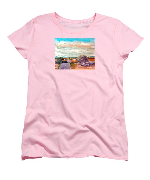 On The Road Again Women's T-Shirt (Standard Cut) by Jim Phillips