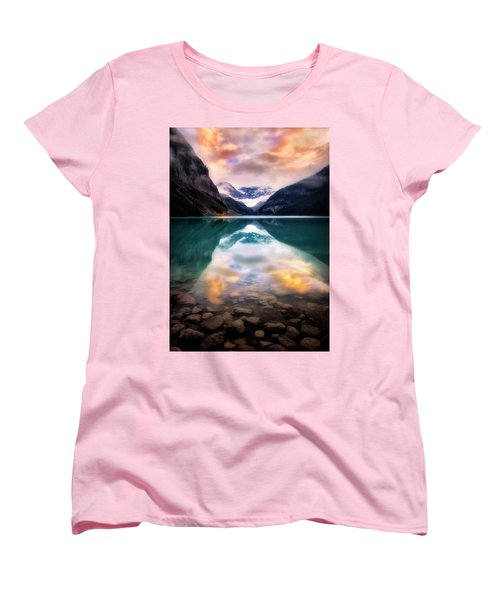 One Colorful Moment  Women's T-Shirt (Standard Cut) by Nicki Frates