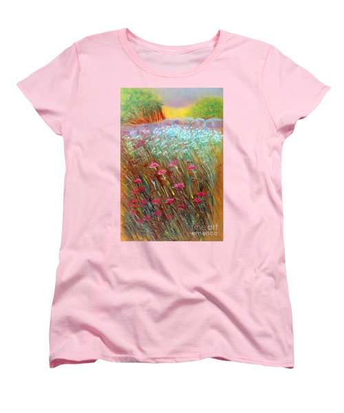 One Day In The Wild Women's T-Shirt (Standard Cut) by Jasna Dragun