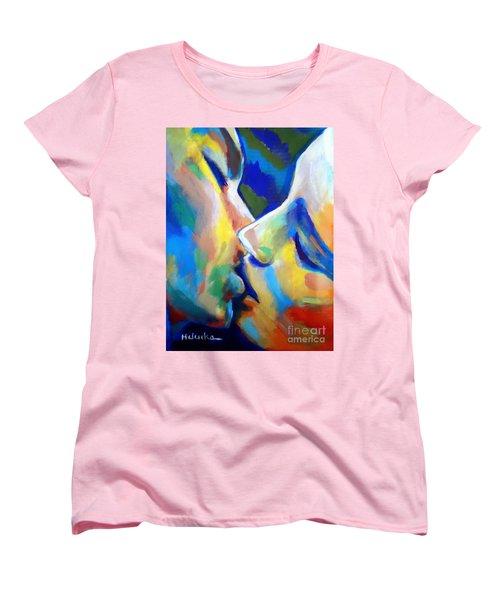 Oneness Women's T-Shirt (Standard Cut) by Helena Wierzbicki