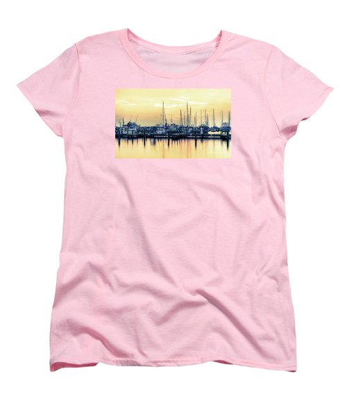 Women's T-Shirt (Standard Cut) featuring the photograph Orange Sorbet by Maddalena McDonald