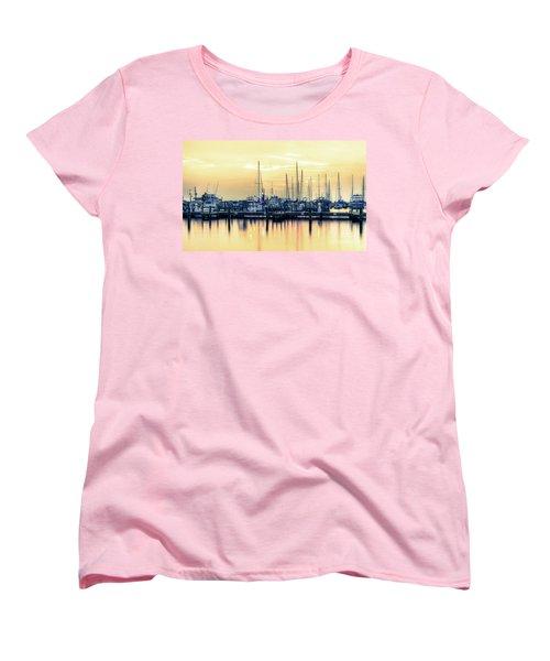 Orange Sorbet Women's T-Shirt (Standard Cut)