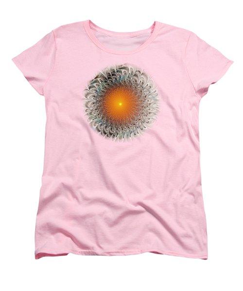 Orange Zone Women's T-Shirt (Standard Cut) by Anastasiya Malakhova