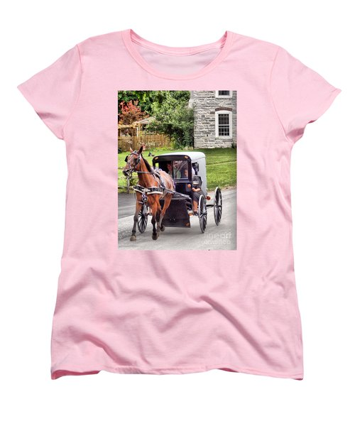 Women's T-Shirt (Standard Cut) featuring the photograph Ornery by Polly Peacock