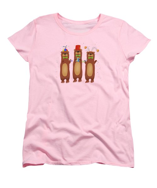 Otter Party And You Are Invited Women's T-Shirt (Standard Cut) by Little Bunny Sunshine