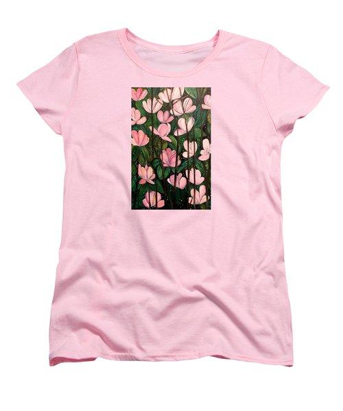 Out In Open Women's T-Shirt (Standard Cut) by Lisa Aerts