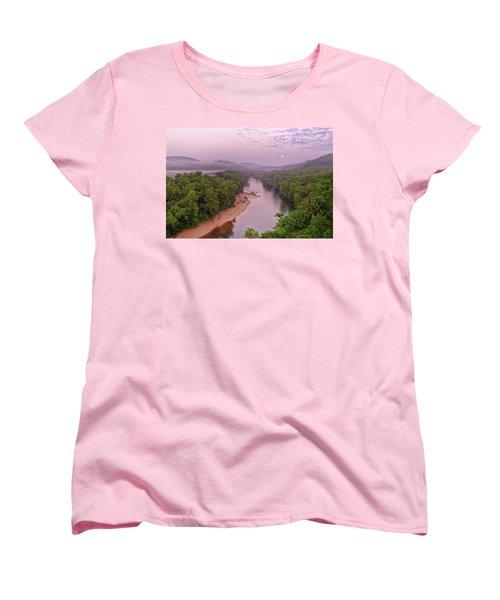 Owl's Bend Women's T-Shirt (Standard Cut) by Robert Charity