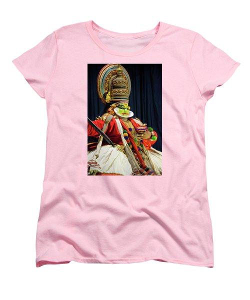 Pacha Vesham Women's T-Shirt (Standard Cut) by Marion Galt