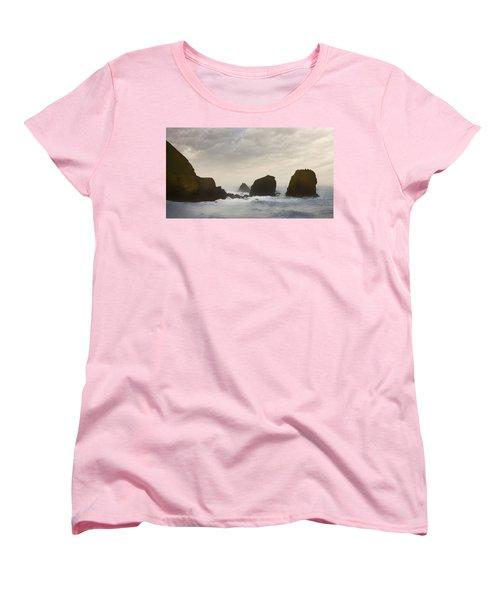 Pacifica Surf Women's T-Shirt (Standard Cut) by John Hansen