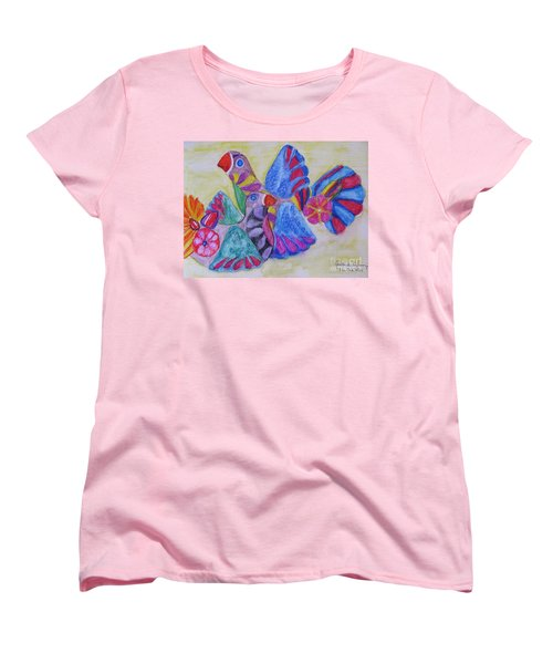 Palomas - Gifted Women's T-Shirt (Standard Cut) by Judith Espinoza