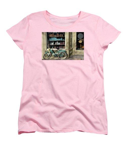 Parked Outside Women's T-Shirt (Standard Cut) by Monte Stevens