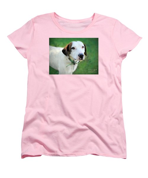 Women's T-Shirt (Standard Cut) featuring the photograph ''patch'' by Marion Johnson
