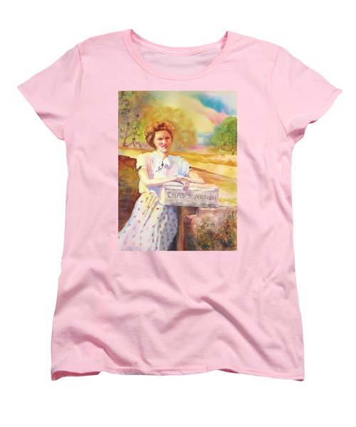 Patty Waiting For Richard Women's T-Shirt (Standard Cut) by Tara Moorman