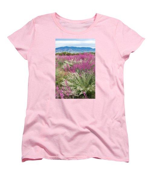 Penstemon At Black Hills Women's T-Shirt (Standard Cut) by Karen Stephenson