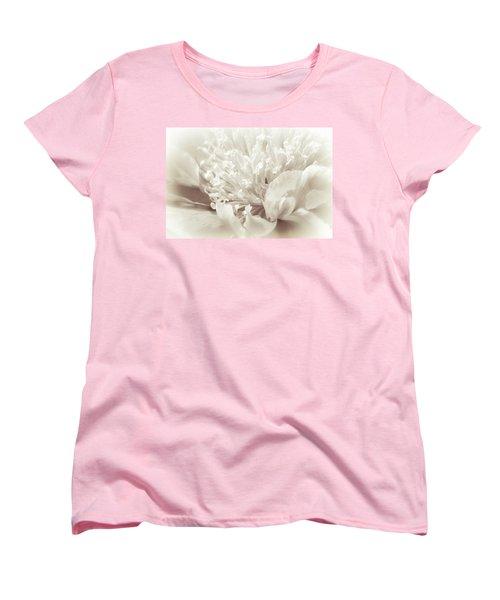 Peony 5 Women's T-Shirt (Standard Cut) by Bonnie Bruno