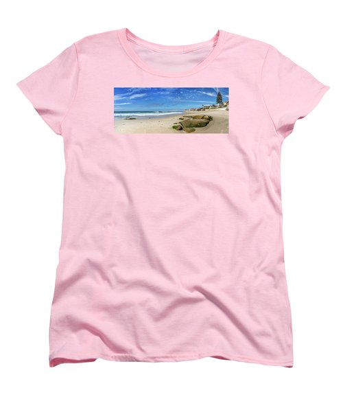 Women's T-Shirt (Standard Cut) featuring the photograph Perfect Day At Horseshoe Beach by Peter Tellone