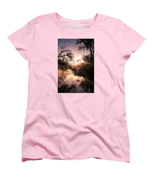 Women's T-Shirt (Standard Cut) featuring the photograph Perfect Reflections by Annette Berglund