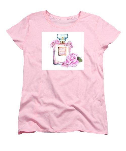 Perfume Florals Women's T-Shirt (Standard Cut) by Heidi Kriel