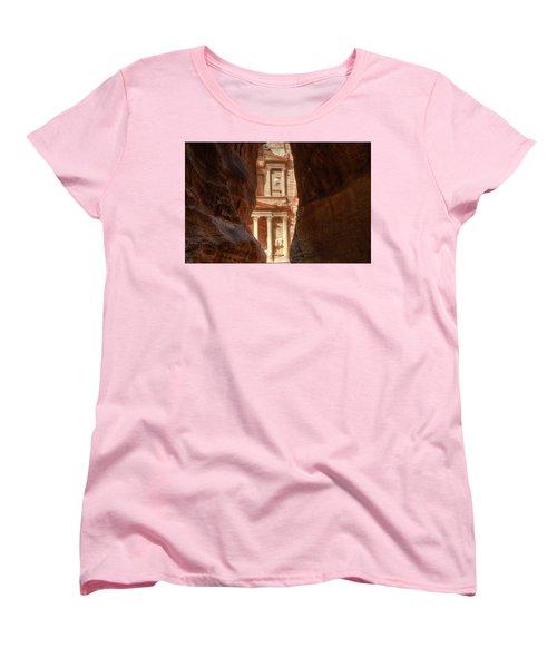 Petra Treasury Revealed Women's T-Shirt (Standard Cut)