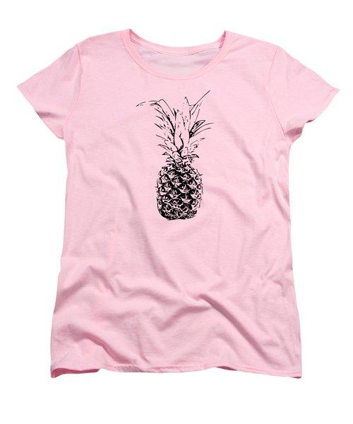 Pineapple Women's T-Shirt (Standard Cut) by Daniel Precht