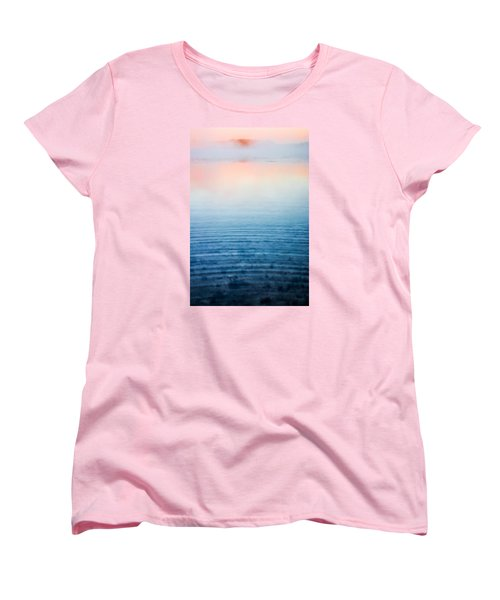 Pink Fog At Sunrise Women's T-Shirt (Standard Cut) by Shelby  Young