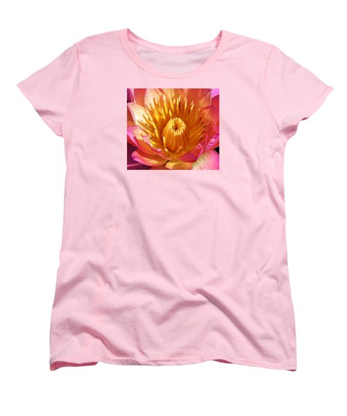Pink Suprise Women's T-Shirt (Standard Cut) by Bruce Bley