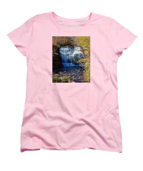 Women's T-Shirt (Standard Cut) featuring the photograph Pixley Falls State Park by Diane E Berry