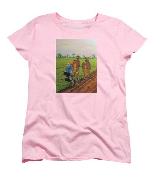 Plowing Match Women's T-Shirt (Standard Cut)