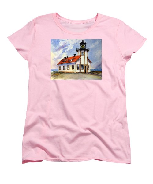 Point Cabrillo Light Station - Fort Bragg Women's T-Shirt (Standard Cut)