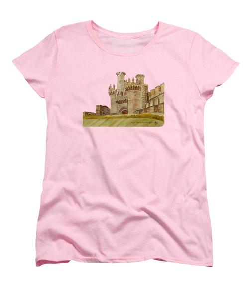 Ponferrada Templar Castle  Women's T-Shirt (Standard Cut)