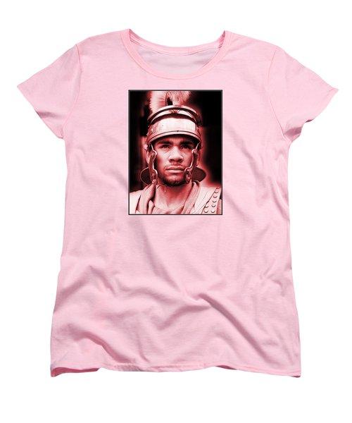 Portrait Of A Roman Soldier Women's T-Shirt (Standard Cut)
