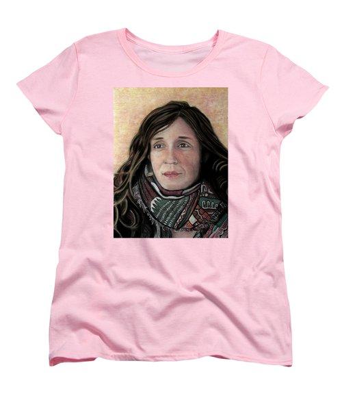 Portrait Of Katy Desmond, C. 2017 Women's T-Shirt (Standard Cut) by Denny Morreale