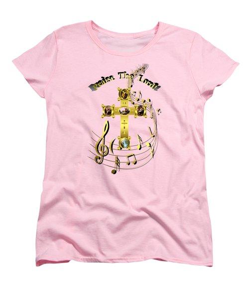 Women's T-Shirt (Standard Cut) featuring the digital art Praise The Lord by Robert G Kernodle