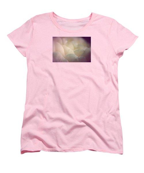 Women's T-Shirt (Standard Cut) featuring the photograph Pretty Cream Rose by The Art Of Marilyn Ridoutt-Greene