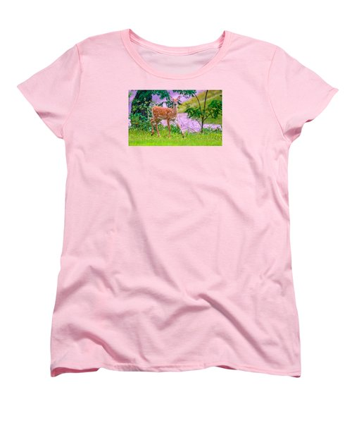 Women's T-Shirt (Standard Cut) featuring the photograph Pretty In Pink 3 by Brian Stevens