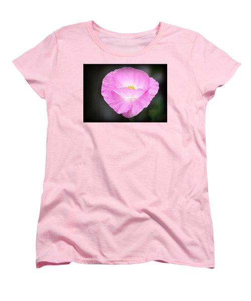 Women's T-Shirt (Standard Cut) featuring the photograph Pretty In Pink by AJ Schibig