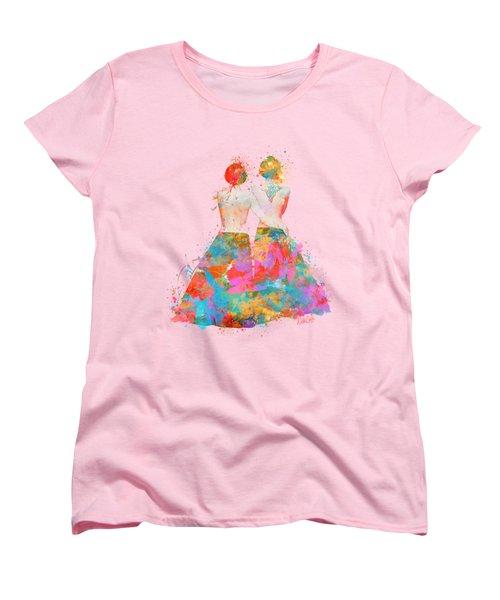 Women's T-Shirt (Standard Cut) featuring the digital art Pride Not Prejudice by Nikki Marie Smith