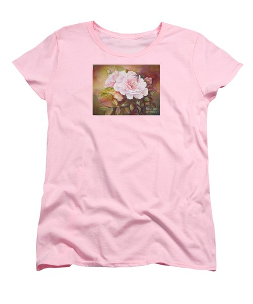 Primrose Women's T-Shirt (Standard Cut) by Patricia Schneider Mitchell