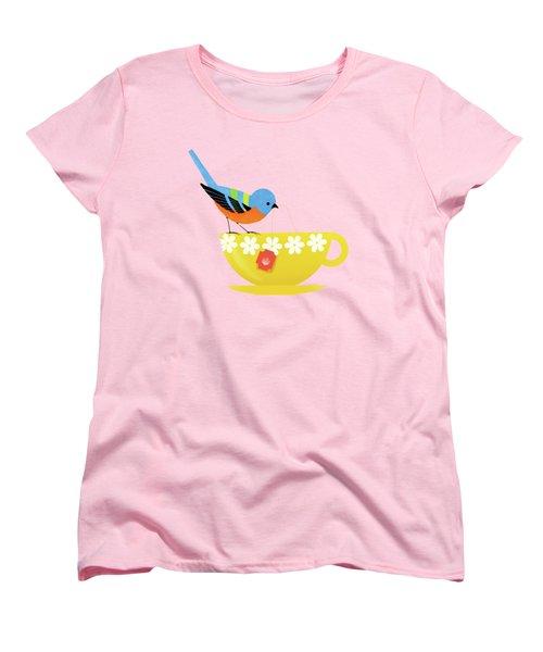 Put The Kettle On Women's T-Shirt (Standard Cut) by Little Bunny Sunshine
