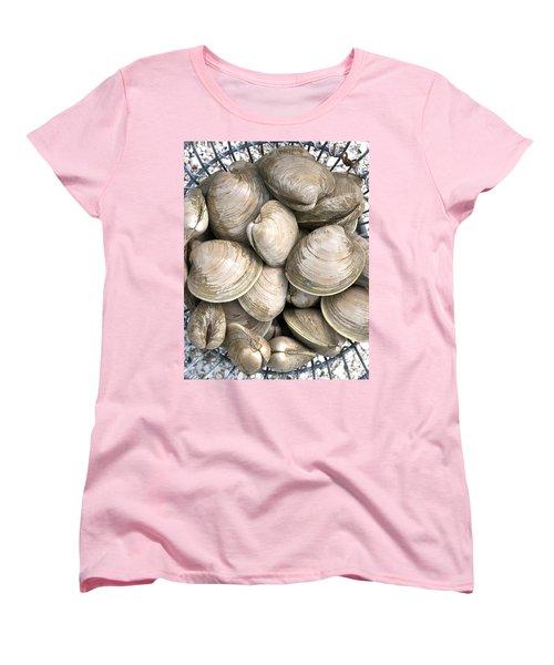 Quahogs Women's T-Shirt (Standard Cut) by Charles Harden