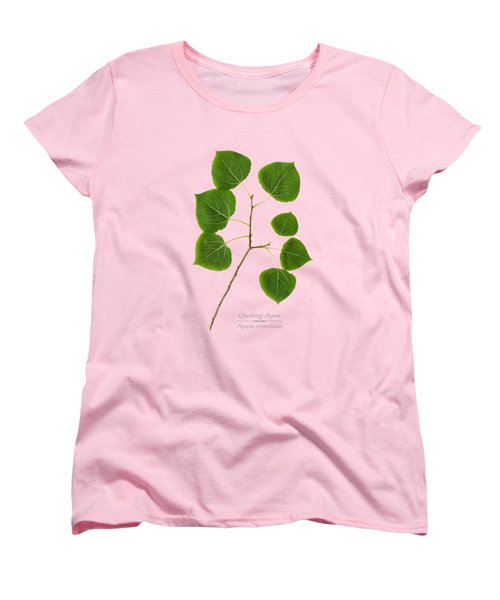 Women's T-Shirt (Standard Cut) featuring the photograph Quaking Aspen by Christina Rollo