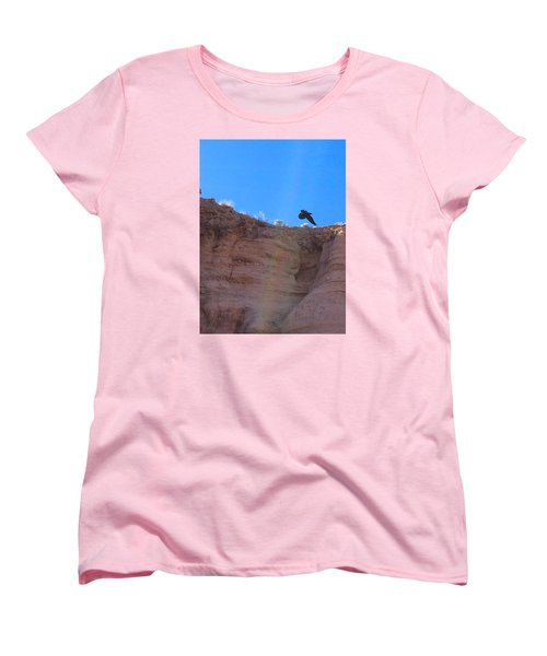 Raven Women's T-Shirt (Standard Cut) by Brenda Pressnall