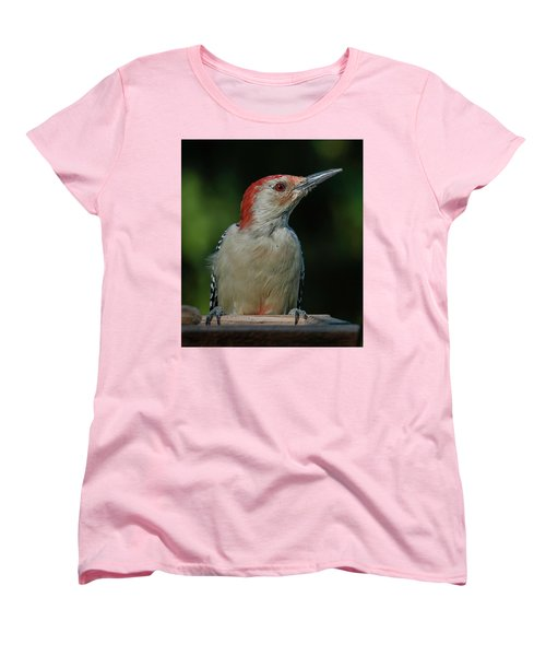 Red At Sunrise Women's T-Shirt (Standard Cut) by Jim Moore