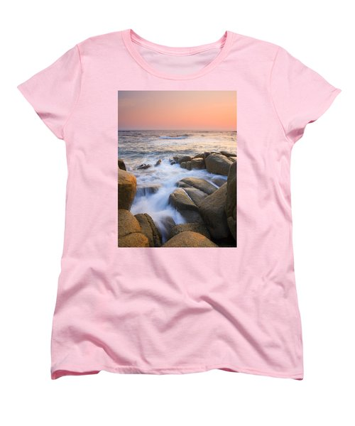 Red Sky At Morning Women's T-Shirt (Standard Cut)