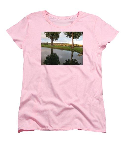 Reflections #183 Women's T-Shirt (Standard Cut) by Barbara Tristan