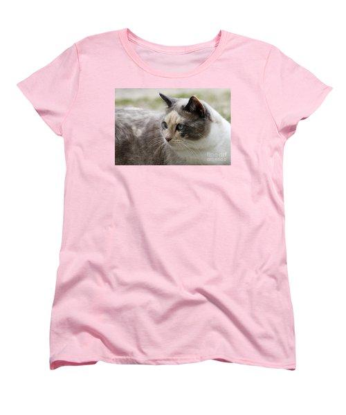 Women's T-Shirt (Standard Cut) featuring the photograph Relaxed by Teresa Zieba