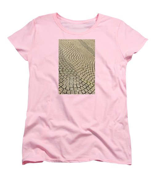 Repetitions Women's T-Shirt (Standard Cut) by Wanda Krack