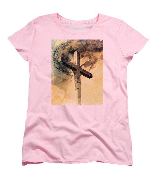 Women's T-Shirt (Standard Cut) featuring the digital art Risen  by Aaron Berg