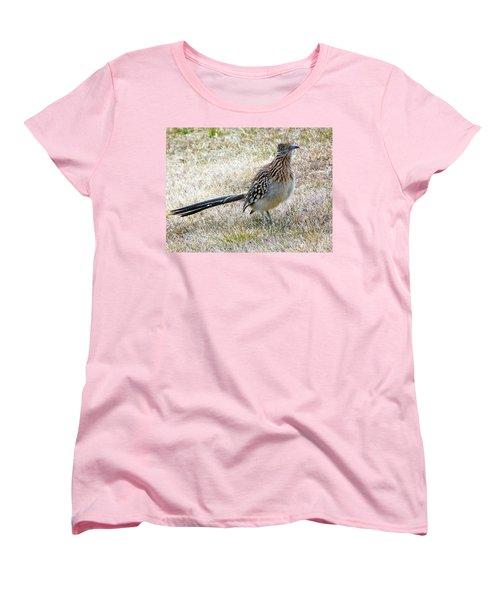 Women's T-Shirt (Standard Cut) featuring the photograph Roadrunner New Mexico by Joseph Frank Baraba